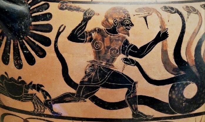 Геракл, Гидра и Рак (мифология)